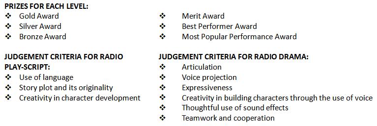 Prizes & Judgement